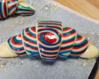 Croissant tricolore