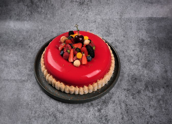 charlotte fruits rouges